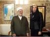 With the Supreme Islamic Authority, Grand Mufti of Jerusalem and Palestine, Sheikh Ikrima Sabri