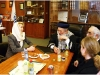Meeting with the Chief Rabbi of Israel, Sholmo Amar