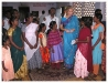 The Begum meeting with young women of Tamilnadu during Health Education session.